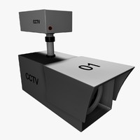 3d security camera model