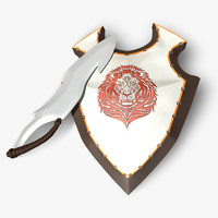 obj shield sword