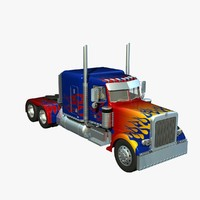 lightwave 389 optimus prime pete