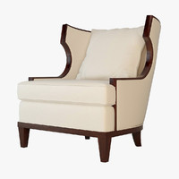 Barbara Barry Winslow  Wing Chair