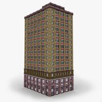 building city 3d model