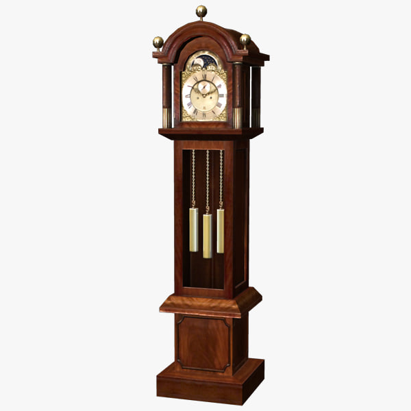 how to open grandfather clock without key
