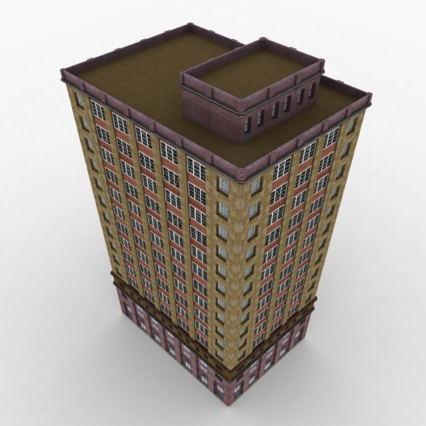 building city 3d model - City Building 048... by dinuka