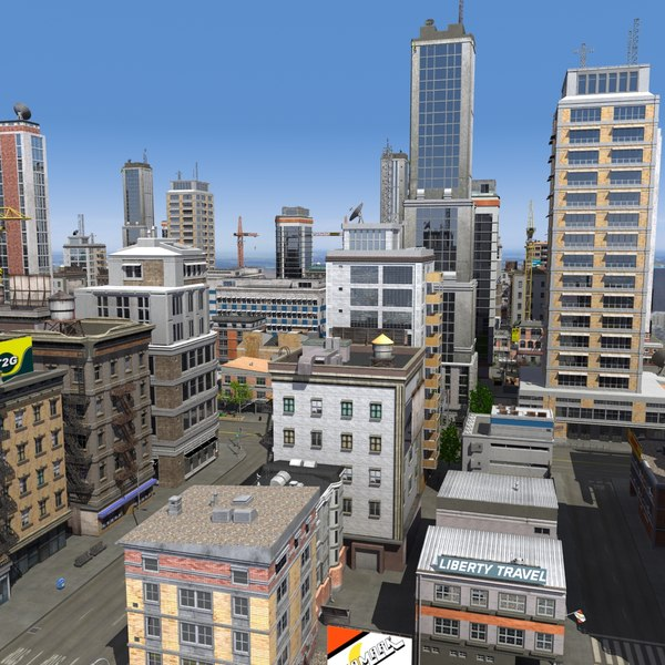 Go Back > Gallery For > Animated City Buildings