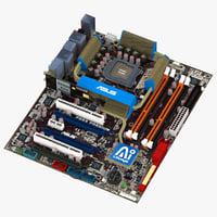 3d motherboard asus p5e3 premium model