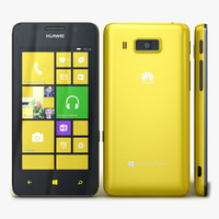 Huawei Ascend W2 Yellow