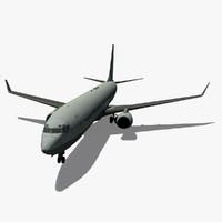 B 737-900 Airplane