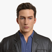 3d male character realistic hair model