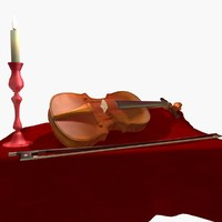 Still Life with Violin