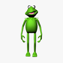 The muppets 3D models