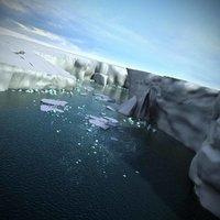 Antarctica Icebergs Landscape Ice