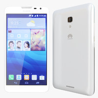 3d max realistic huawei ascend mate