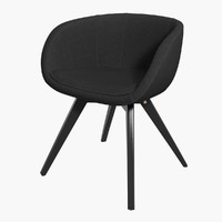 chair scoop tom dixon 3d model