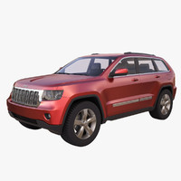 3ds max jeep grand cherokee 2011