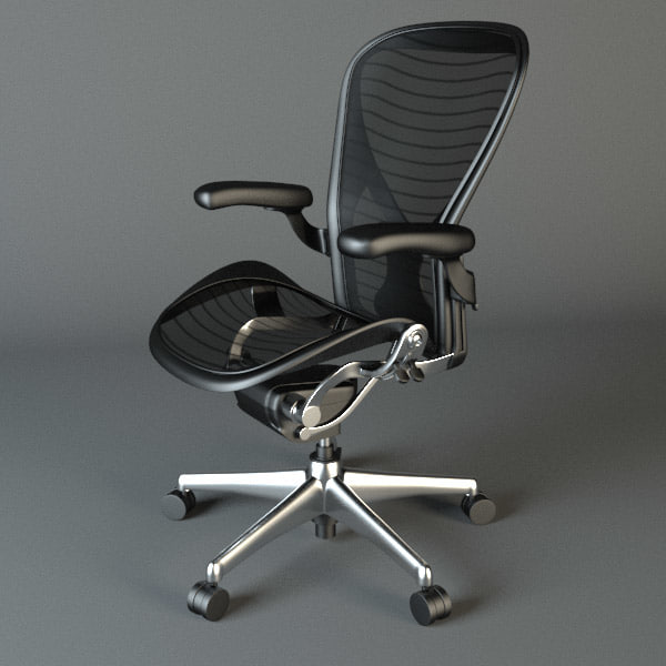 3d Model Aeron Chair
