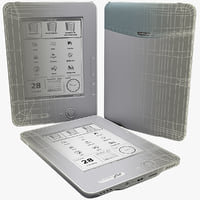 3d pocketbook pro 612 model
