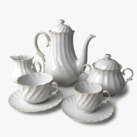 maya porcelain coffee tea set