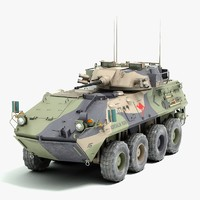 australian vehicle aslav 3d lwo