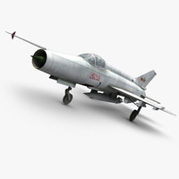 max chengdu j-7ii fighter jet
