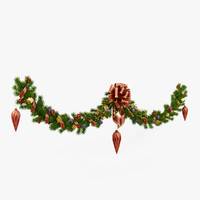 fbx christmas wreath