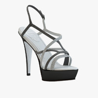 max - black sandals caovilla