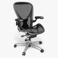 aeron chair 3ds