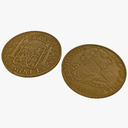 gold coin 3D models