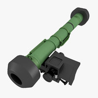 3d model fgm 148 javelin missile launcher