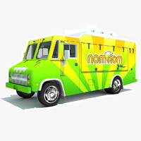 3ds max nomnom food truck