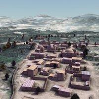 afghan arab town houses max