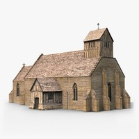 3d model st james church