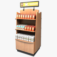 Coffee Display Rack