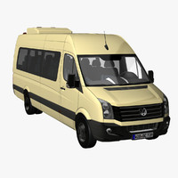VW Crafter Bus 2011
