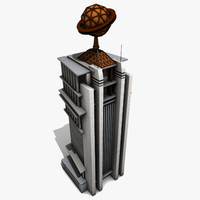 daily planet 3d model