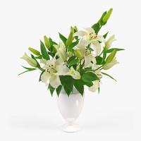 obj lily vase