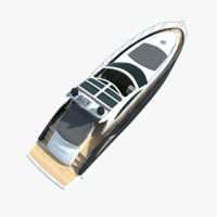 Small Modern Yacht
