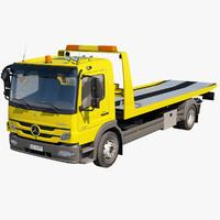 c4d mercedes-benz tow truck