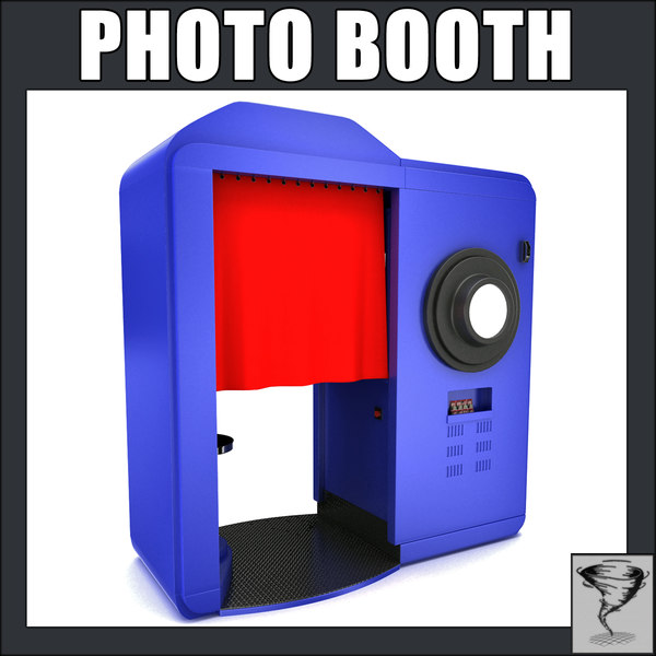 photo booth cameras 3ds - Photo Booth... by Tornado Studio