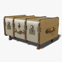 3d authentic stateroom trunk