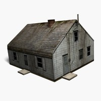 3ds max low-poly abandoned