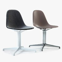 Eames Plastic Side Chair DSL