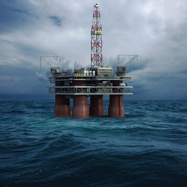 3ds offshore oil platform