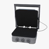 3d model toaster sandwich