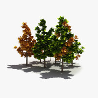 modelled tree 3d max