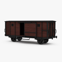 maya covered boxcar