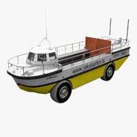 Amphibious Boat Jokulsarlon