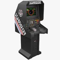 3dsmax arcade starfighter