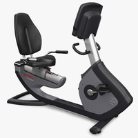 3ds max life fitness 95r exercise machine