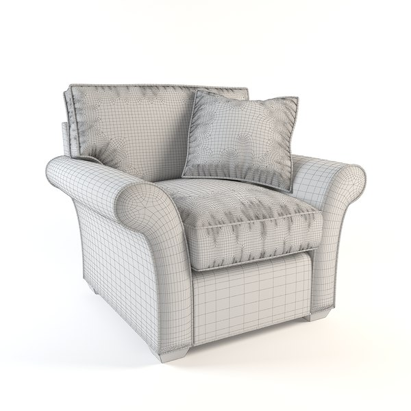 3ds max sofa armchair chair for J furniture amory ms