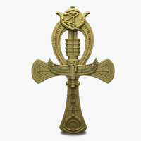 3ds max ankh cross life